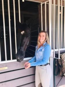 Amandalynn Mayo and Horse