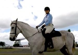 CBS12 Equine Story - Screen Shot - Julie Snyder - 4-19