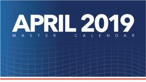 KU Events Calendar Visual - April - 4-19