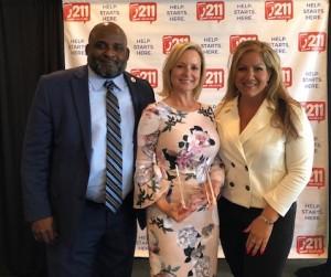 Port St. Lucie - Leslie Kristof Receives Nonprofit Brd Member Award - B - 5-19