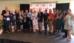 Port St. Lucie - Leslie Kristof Receives Nonprofit Brd Member Award - C - 5-19