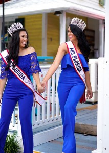 KU Pageant Winners Laura Pucker and Tiffany Tino - Low Res - B - 6-19
