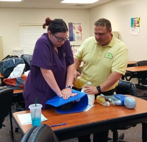 Tallahassee - Medical Assisting Students Learn Skills - A - 9-19