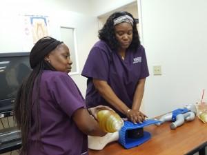 Tallahassee - Medical Assisting Students Learn Skills - B - 9-19