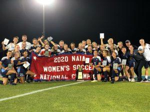 Keiser University Women's Soccer National Champs