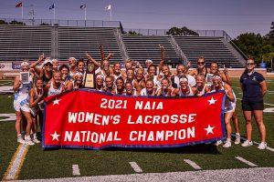 Keiser University Women's Lacrosse Team National Champs