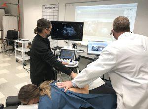 Keiser University Cox Flexion Distraction Ultrasound Exercise - C