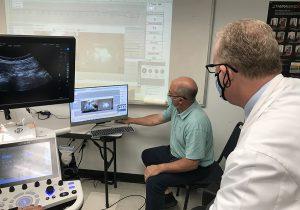 Keiser University Cox Flexion Distraction Ultrasound Exercise - B